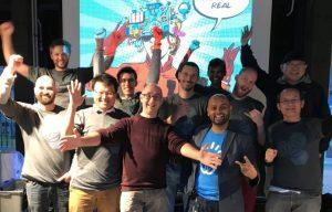 IoT Hackathon team in action